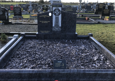 Celtic Cross Family Headstone