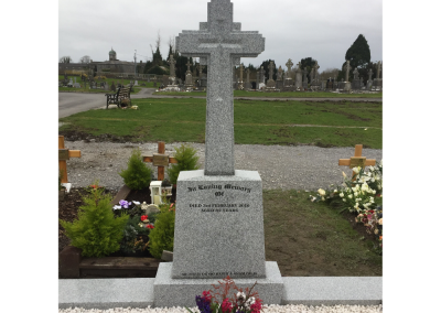 Michael Collins Celtic Cross Headstone