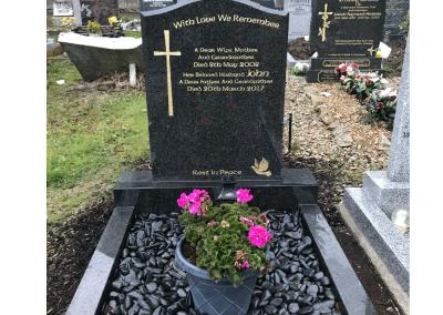 Rustinberg Ogee Headstone